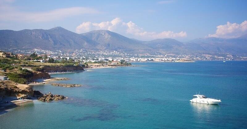 Аниссарас на острове Крит