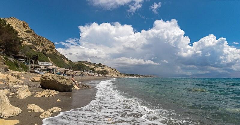 Ливийское море на Крите