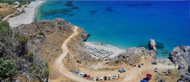 Пляжи на юге острова Крит