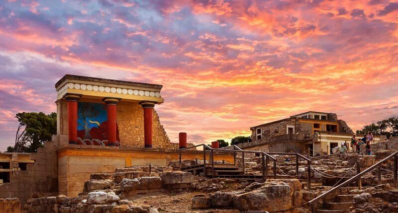 Остатки минойской цивилизации