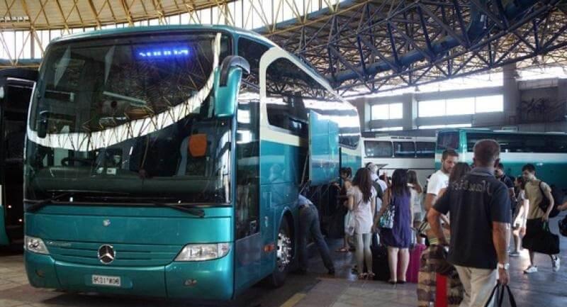 Проезд на автобусах Греции