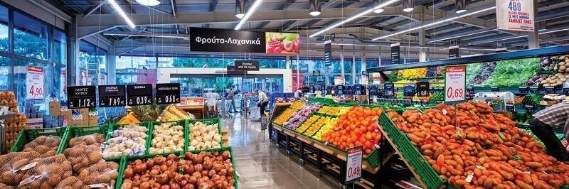 Супермаркеты на острове Крит