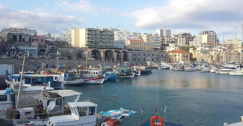 Столица Крита Ираклион