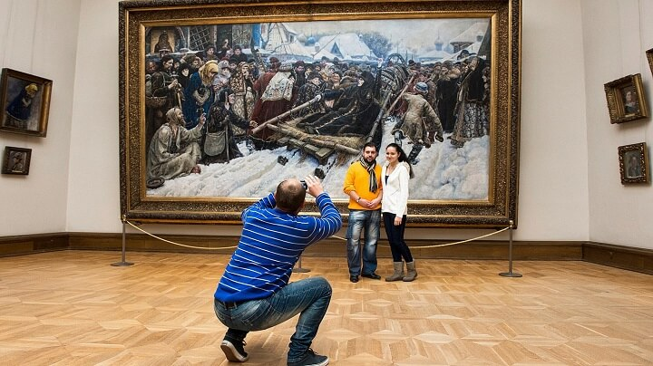 Фото в музеях