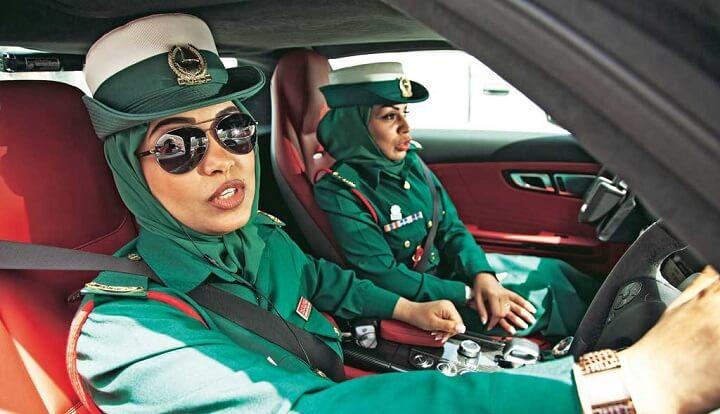 Полицейские ОАЭ